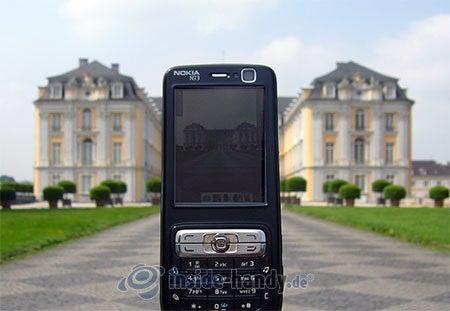 Nokia N73 Musik Edition: beim Fotografieren
