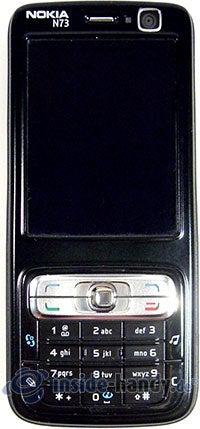 Nokia N73 Musik Edition: Draufsicht