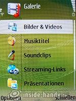 Nokia N73 Musik Edition: Galerie