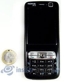 Nokia N73 Musik Edition: Größenverhältnis