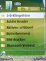 Nokia N73 Musik Edition: Hilfe