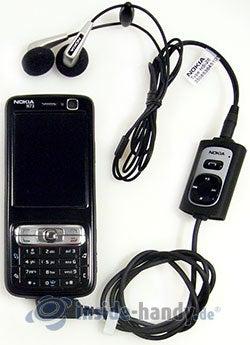 Nokia N73 Musik Edition: mit Headset