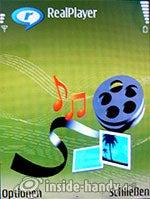 Nokia N73 Musik Edition: RealPlayer