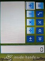 Nokia N73 Musik Edition: Rechner