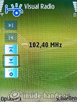 Nokia N73 Musik Edition: Visual Radio