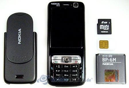 Nokia N73 Musik Edition: zerlegt in Bestandteile