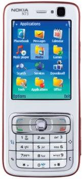 Nokia N73 Datenblatt - Foto des Nokia N73