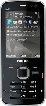 Nokia N78 Datenblatt - Foto des Nokia N78