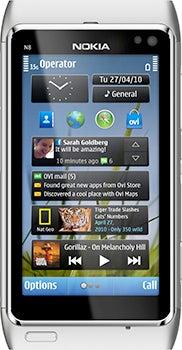 Nokia N8 Datenblatt - Foto des Nokia N8