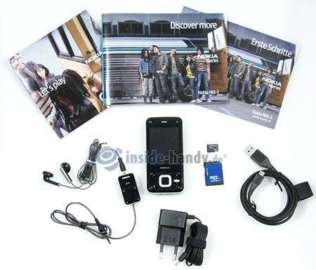 Nokia N81: Lieferumfang