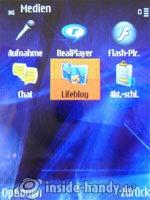 Nokia N81: Median