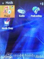 Nokia N81: Medien