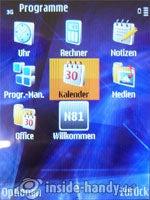 Nokia N81: Programme