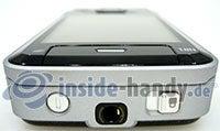 Nokia N81: Seitenansicht oben