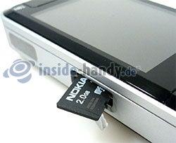 Nokia N81: Speicherkarte