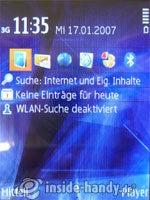 Nokia N81: Startbild