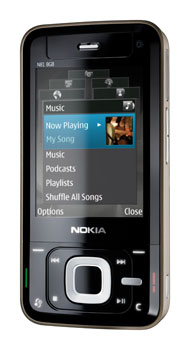 Nokia N81 Datenblatt - Foto des Nokia N81