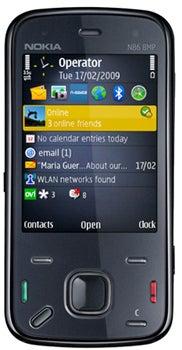 Nokia N86 Datenblatt - Foto des Nokia N86