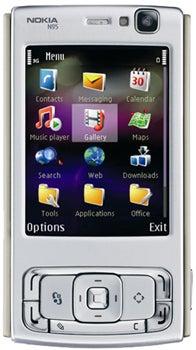 Nokia N95 Datenblatt - Foto des Nokia N95