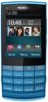 Nokia X3-02 Touch and Type Datenblatt - Foto des Nokia X3-02 Touch and Type