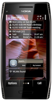Nokia X7-00 Datenblatt - Foto des Nokia X7-00