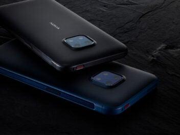 Blau und Schwarz: Das Nokia XR20