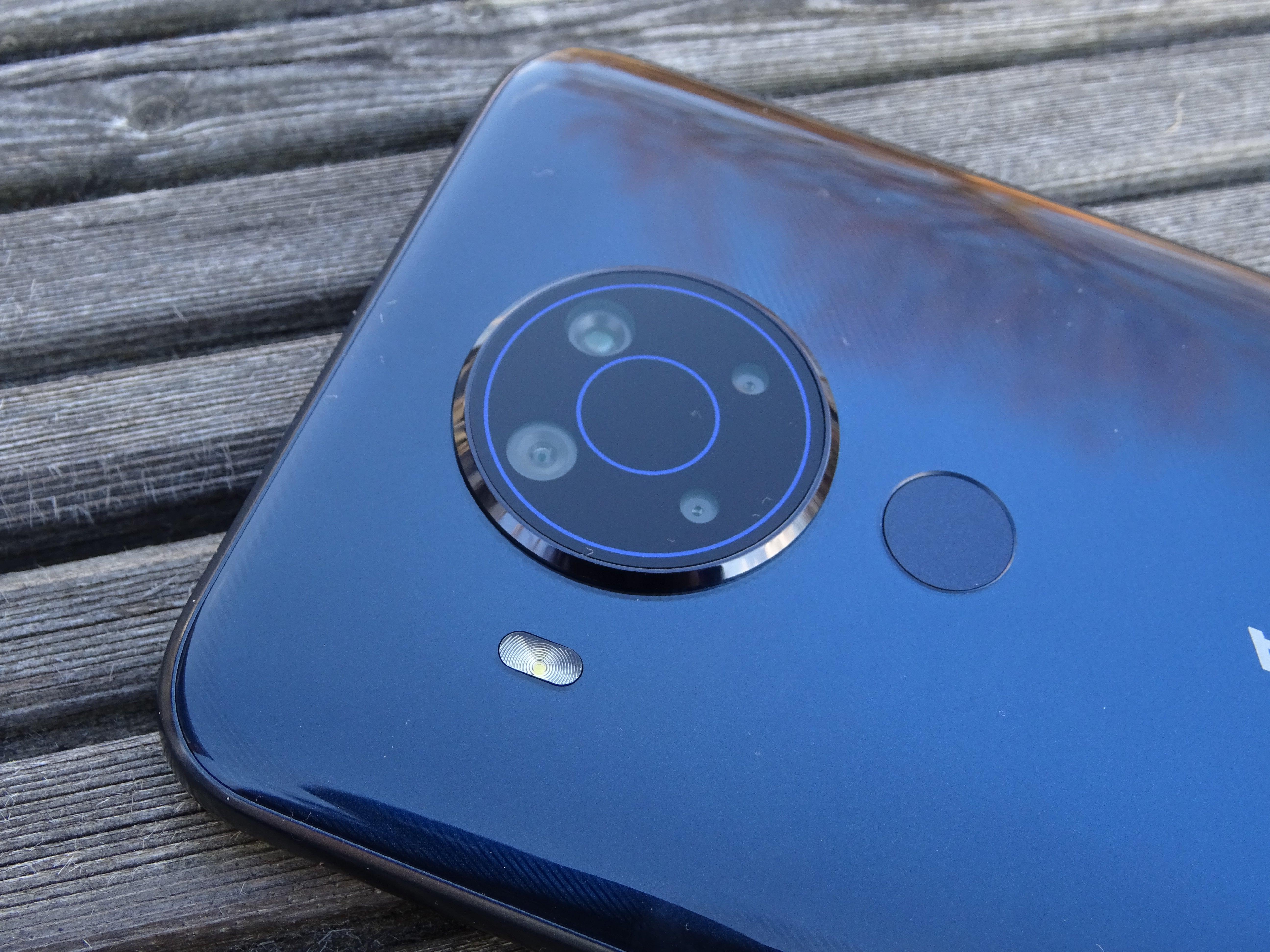 Die Quad-Kamera des Nokia 4.5