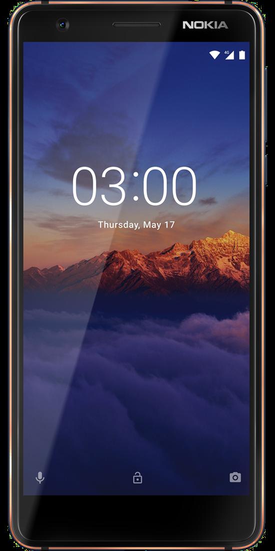 Nokia 3.1 Front