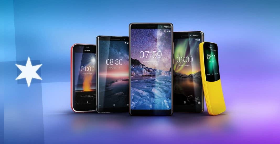 Nokia-Vorstellung: Fünf neue Handys treten ins Rampenlicht