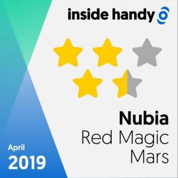 Das Testsiegel des Nubia Red Magic Mars