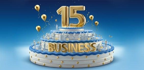 15 Jahre O2 Business