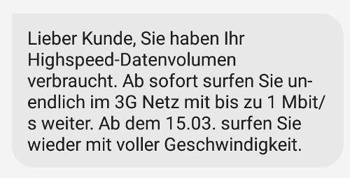 O2 Free Info-SMS