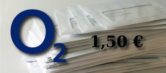 O2 Papier-Rechnung Gebühr