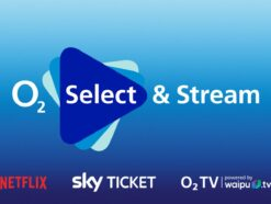Das Logo con O2 Select & Stream