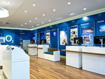 eID-Verfahren neu in O2-Shops