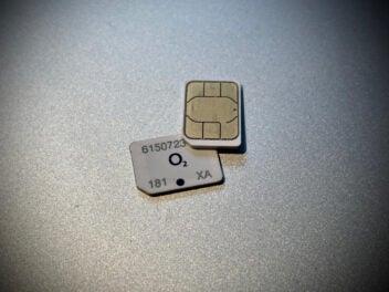 SIM-Karten von O2