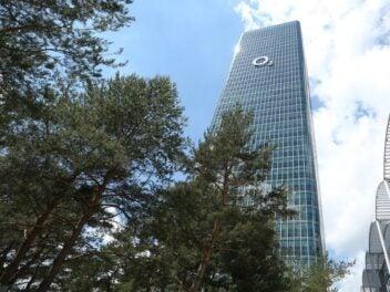 Der O2 Tower in München
