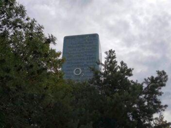 Der Firmensitz von O2