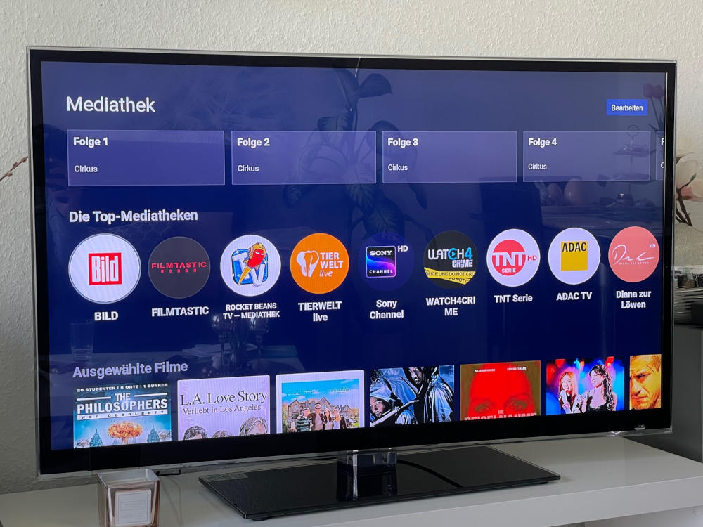 O2 TV Mediathek