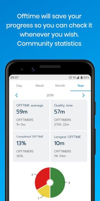 OffTime App Screenshot