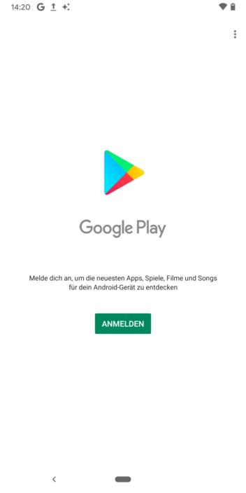 Anmeldung nicht möglich android gmail Unbekannter Fehler