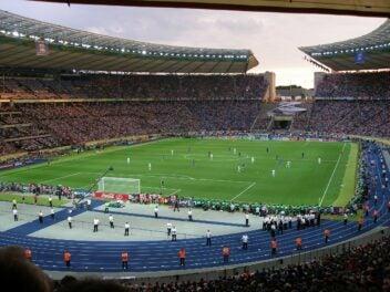 Blick ins Berliner Olympiastadion