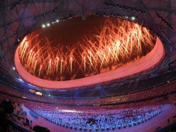 Olympische Spiele Bejing Eröffnungsfeier
