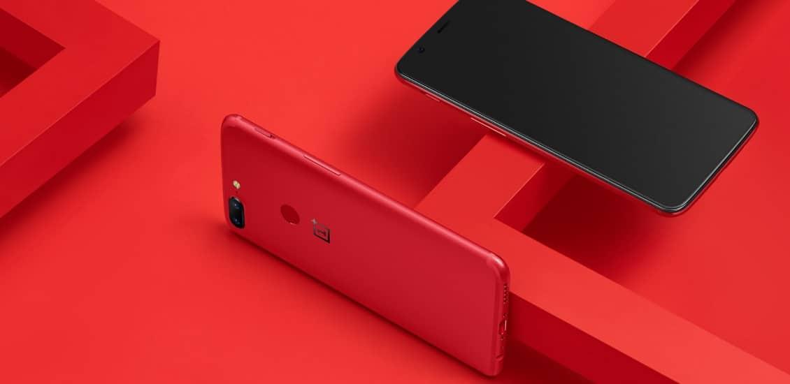 OnePlus 5T Rot