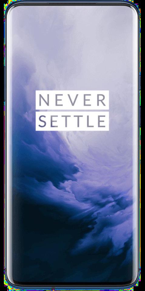 OnePlus 7 Pro in der Farbe Blau