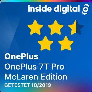 Testsiegel des OnePlus 7T Pro McLaren Edition