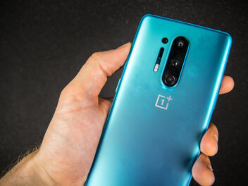 Heck des OnePlus 8 Pro im Hands-On