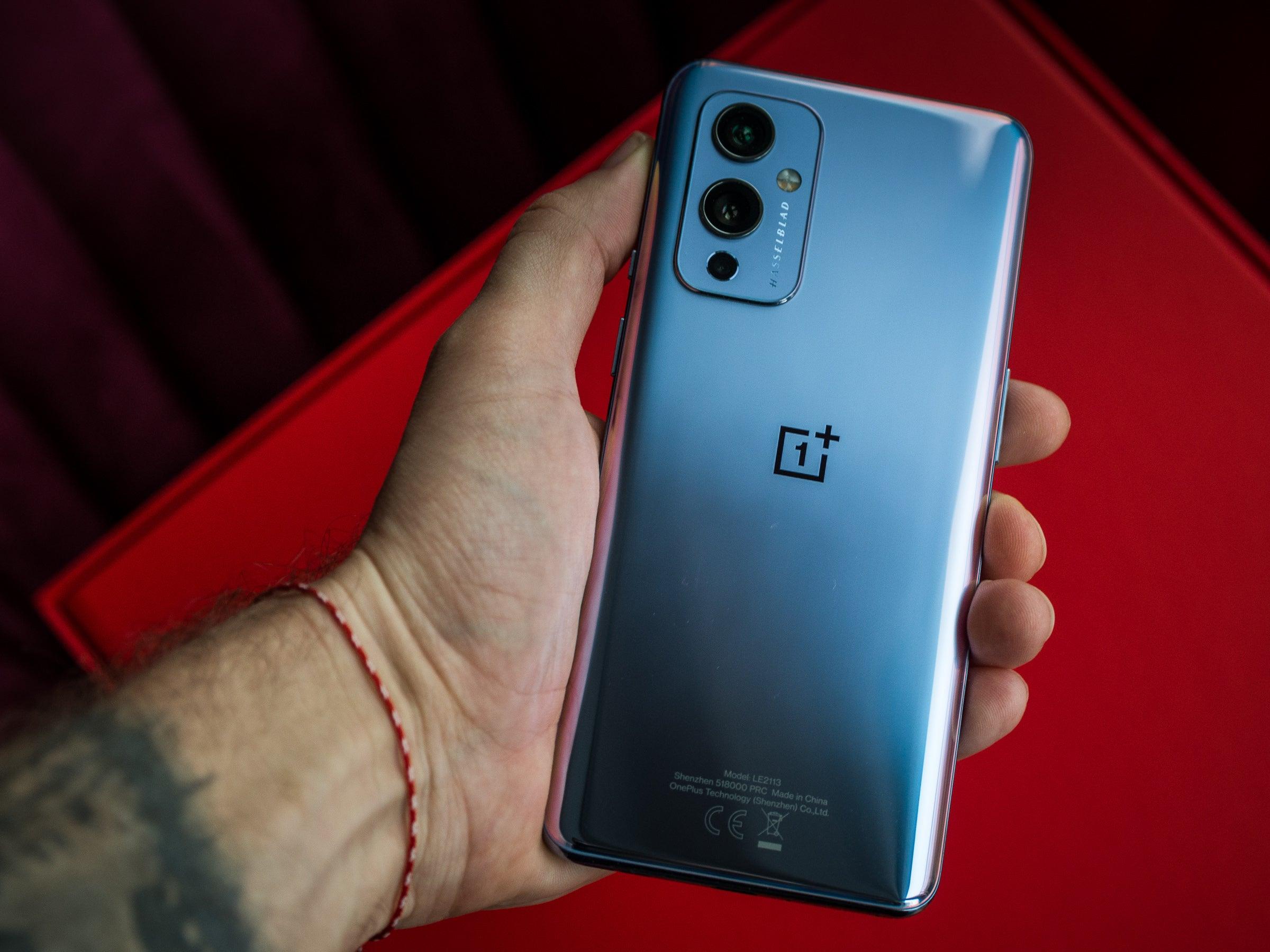 Eine der Farben des neuen OnePlus-Smartphones