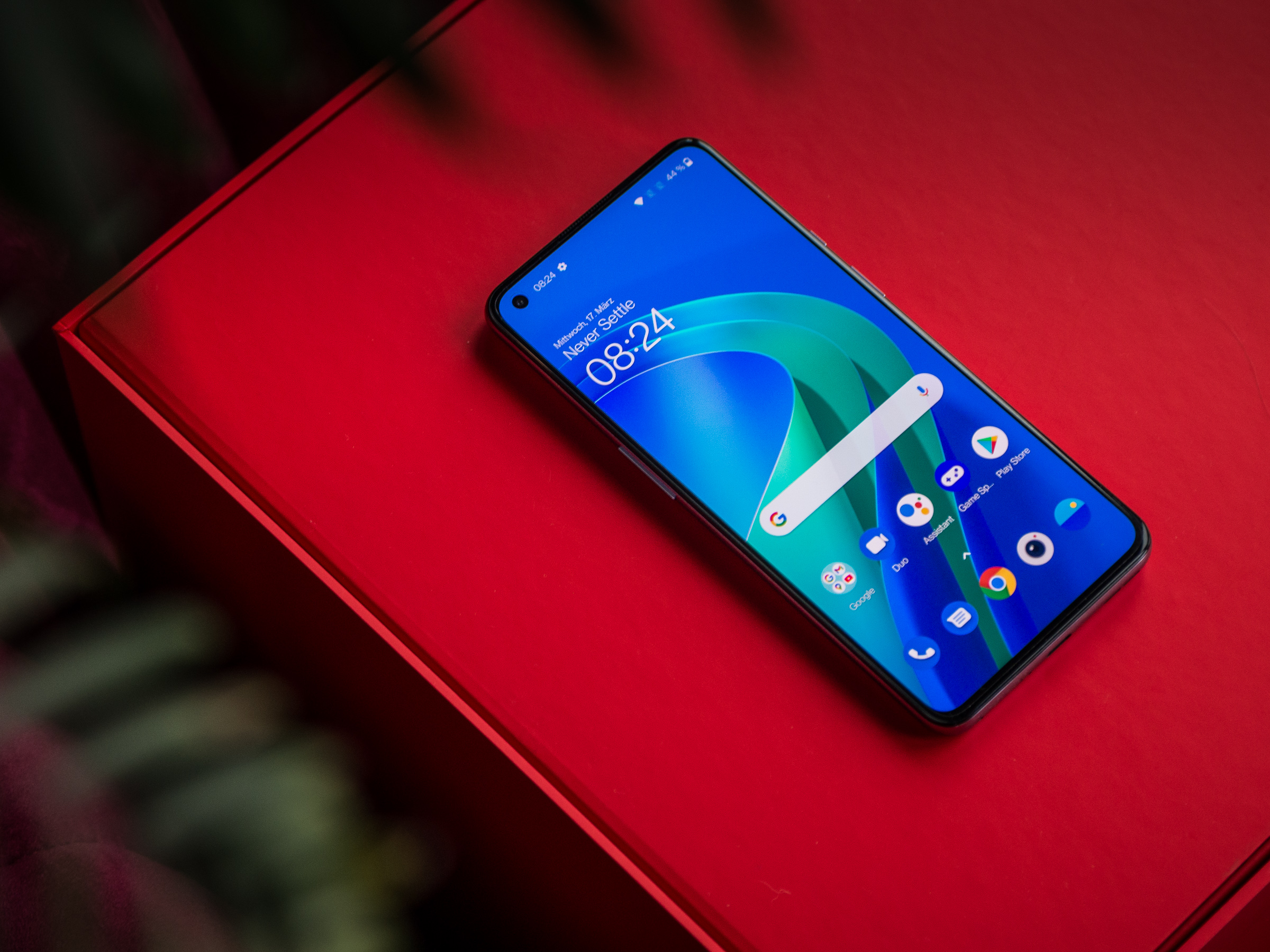 Das Display des OnePlus 9