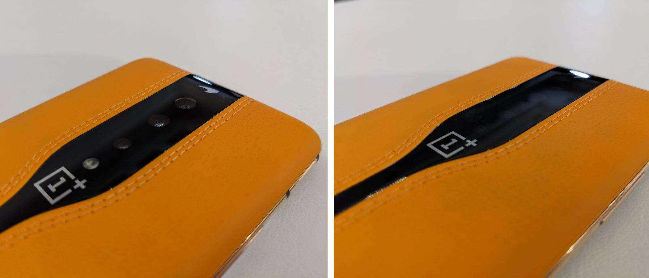 Versteckte Kamera beim OnePlus Concept One